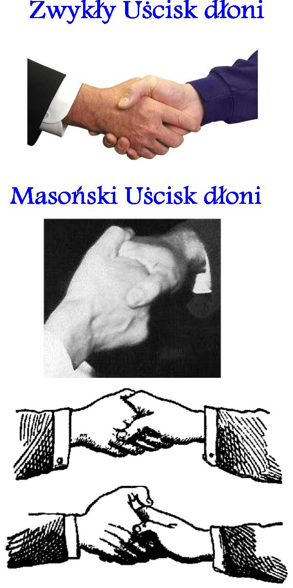 masoński uścisk dłoni