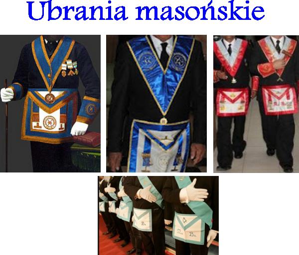 ubrania masońskie