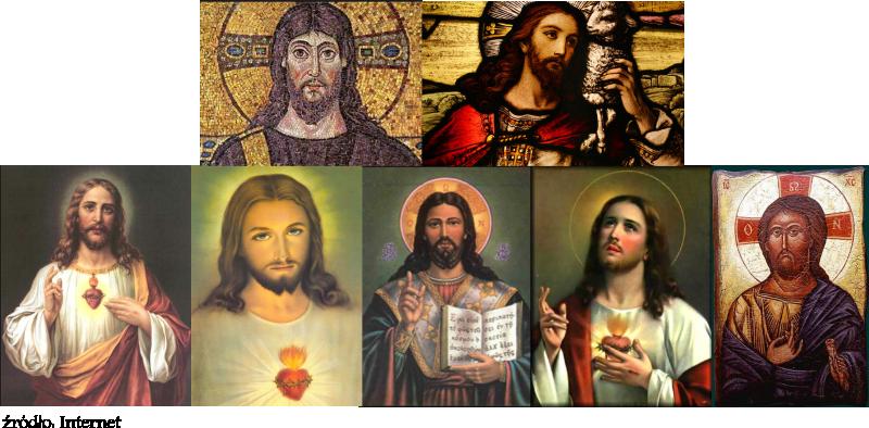 Fałszywe obrazy Chrystusa - Syna Boga